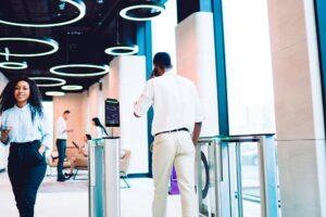corporate bulding access control
