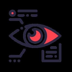 blockchain biodata management big icon by ThermoVSN